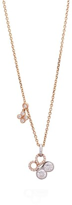 Boodles Rose Gold, Platinum and Diamond Be Boodles Necklace