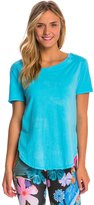 Under The Canopy Organic Jasmine Side Slit Yoga Shirt 8138063