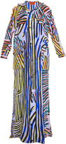 Missoni Stripe Print Silk Trench