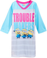 Despicable Me Trouble Makers Minions Nightgown, Little Girls (2-6X) & Big Girls (7-16)