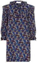Sandro Paisley Silk Dress
