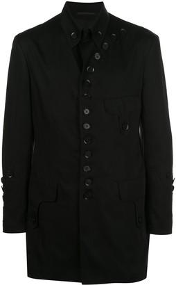 Yohji Yamamoto Button Detail Military Jacket