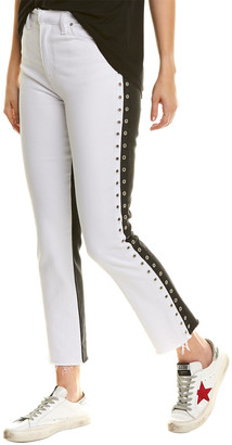 Hudson Holly Total Eclipse Cropped Straight Leg Jean