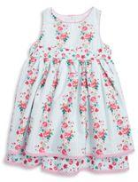 Laura Ashley Floral-Print Sleeveless Dress