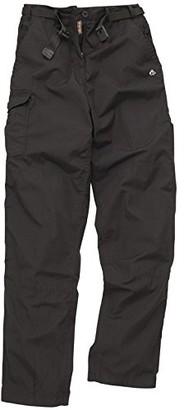 Craghoppers Women's classic kiwi trousers (Black 8L)