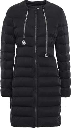 Love Moschino Chain-embellished Quilted Shell Down Coat