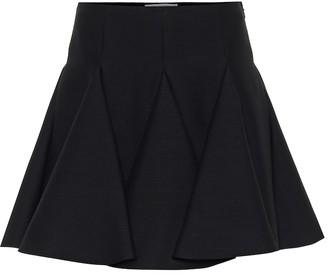 Valentino Virgin wool and silk miniskirt