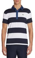 Lacoste Golf Stretch Ultra-Dry Stripe Polo