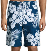THE FOUNDRY SUPPLY CO. The Foundry Big & Tall Supply Co. Foundry Pattern Swim Shorts Big and Tall