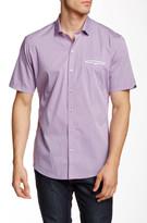 Zachary Prell Kent Short Sleeve Trim Fit Shirt