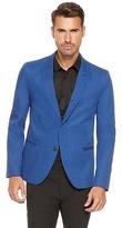 HUGO BOSS Ankins Extra Slim Fit, Pima Cotton Sport Coat - Medium Blue