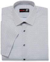 Jf J.Ferrar JF Stretch Slim Fit Short Sleeve Dress Shirt