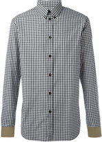 Givenchy gingham check shirt - men - Cotton - 41