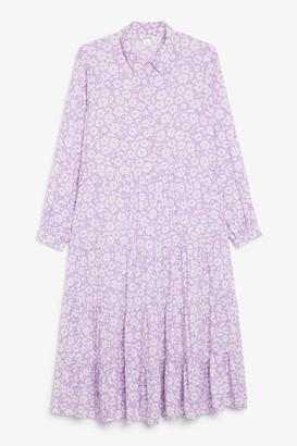 Monki Maxi shirt dress