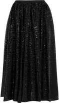 MICHAEL Michael Kors Sequined tulle midi skirt