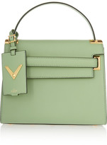 Valentino My Rockstud Leather Tote - Mint
