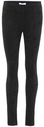 Velvet Rosalind faux suede leggings