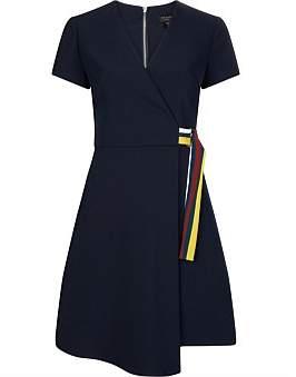 Ted Baker Florry V Neck Jersey Wrap Dress