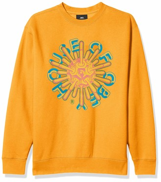 Obey Men's House Crewneck Sweatshirt