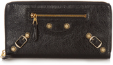Balenciaga Giant Continental leather zip wallet