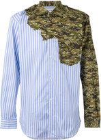 Comme des Garcons multi-print patchwork shirt