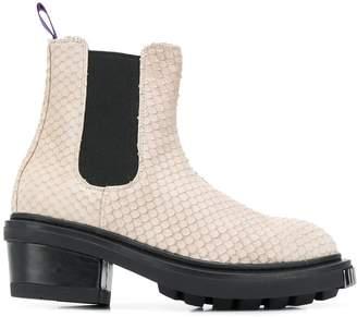 Eytys snakeskin-effect boots