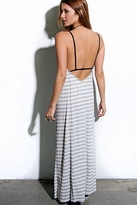 Blue Life Hipster Dress in Natural/Grey Stripe