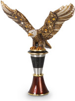 Jay Strongwater Nathaniel Eagle Wine Stopper with Holder