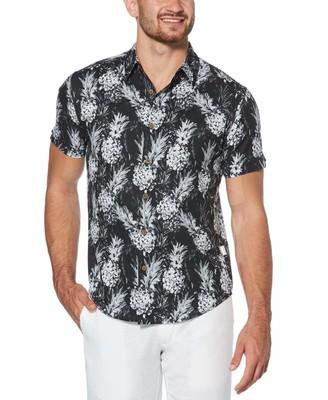 Cubavera Pineapple Print Shirt