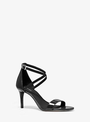 Michael Kors Ava Patent Leather Sandal