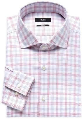 HUGO BOSS Jason Plaid Dress Shirt