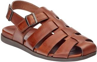 Vionic Men's Leather Ludlow Fisherman Sandals -Gil