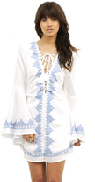 West Coast Wardrobe Bewtiched Woven Dress in White