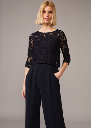 Phase Eight Elodie Tapework Jumpsuit