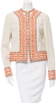 Tory Burch Embellished Embroidered Jacket