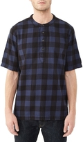 Alternative Crusade Yarn Dye Flannel Popover Shirt