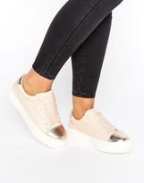 Miss KG Kamille Metallic Panel Sneaker
