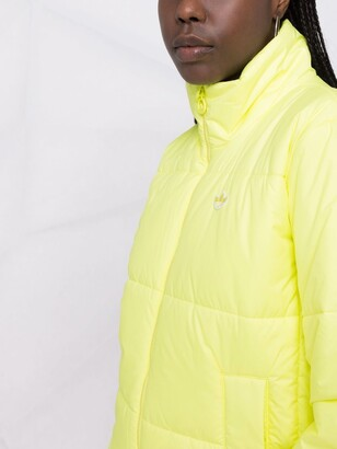 adidas Short Puffer logo jacket
