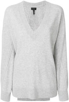 Rag & Bone V-neck ribbed sweater
