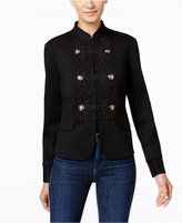 INC International Concepts Soutache Military Jacket, Only at Macy's
