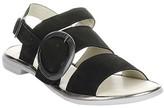 Fly London Women's Sandals 000 - Black & Bronze Codo Leather Sandal - Women