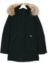 Woolrich Kids padded hooded coat