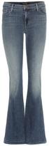 J Brand Sneaker Flare mid-rise jeans