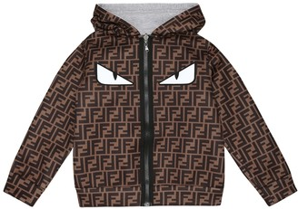 Fendi Kids FF reversible jacket