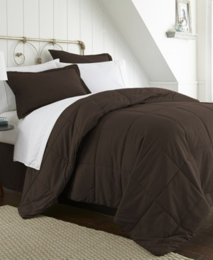 IENJOY HOME A Beautiful Bedroom 6 Piece Bed in a Bag Set by The Home Collection, Twin Xl Bedding