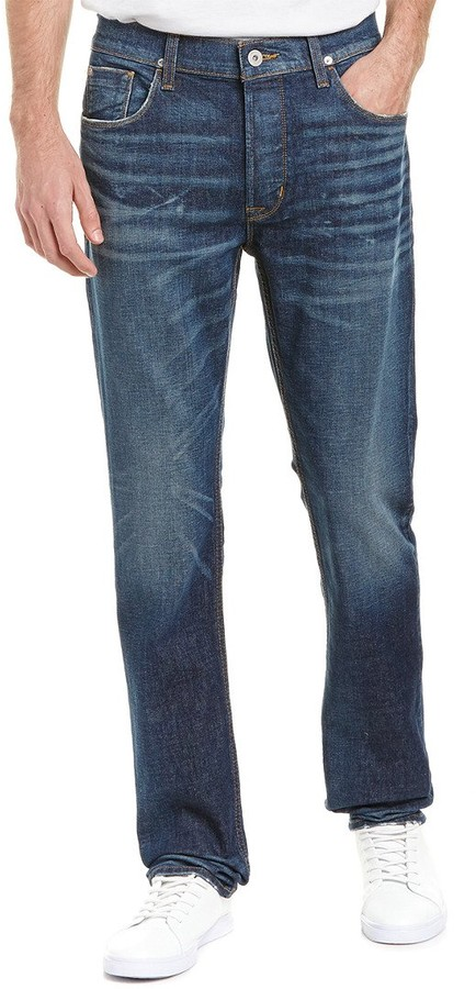 Hudson Jeans Mens Sartor Slouchy Skinny Jeans