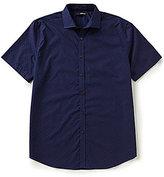 Murano Short-Sleeve Spread Collar Dash Sportshirt