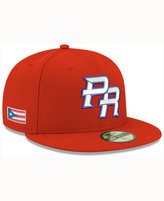 New Era Puerto Rico 2017 World Baseball Classic 59FIFTY Cap