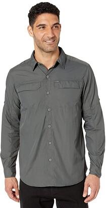 Columbia Silver Ridge 2.0 Long Sleeve Shirt (Grill) Men's Long Sleeve Button Up