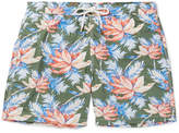 Hartford Mid-Length Printed Swim Shorts